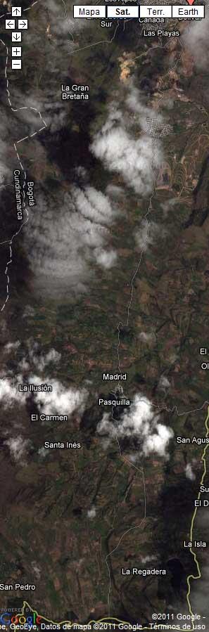 mapa para llegar a Asotur